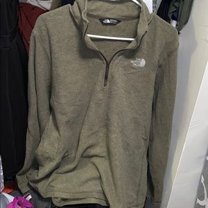 The North Face Men's Large Quarter Zip Sweater